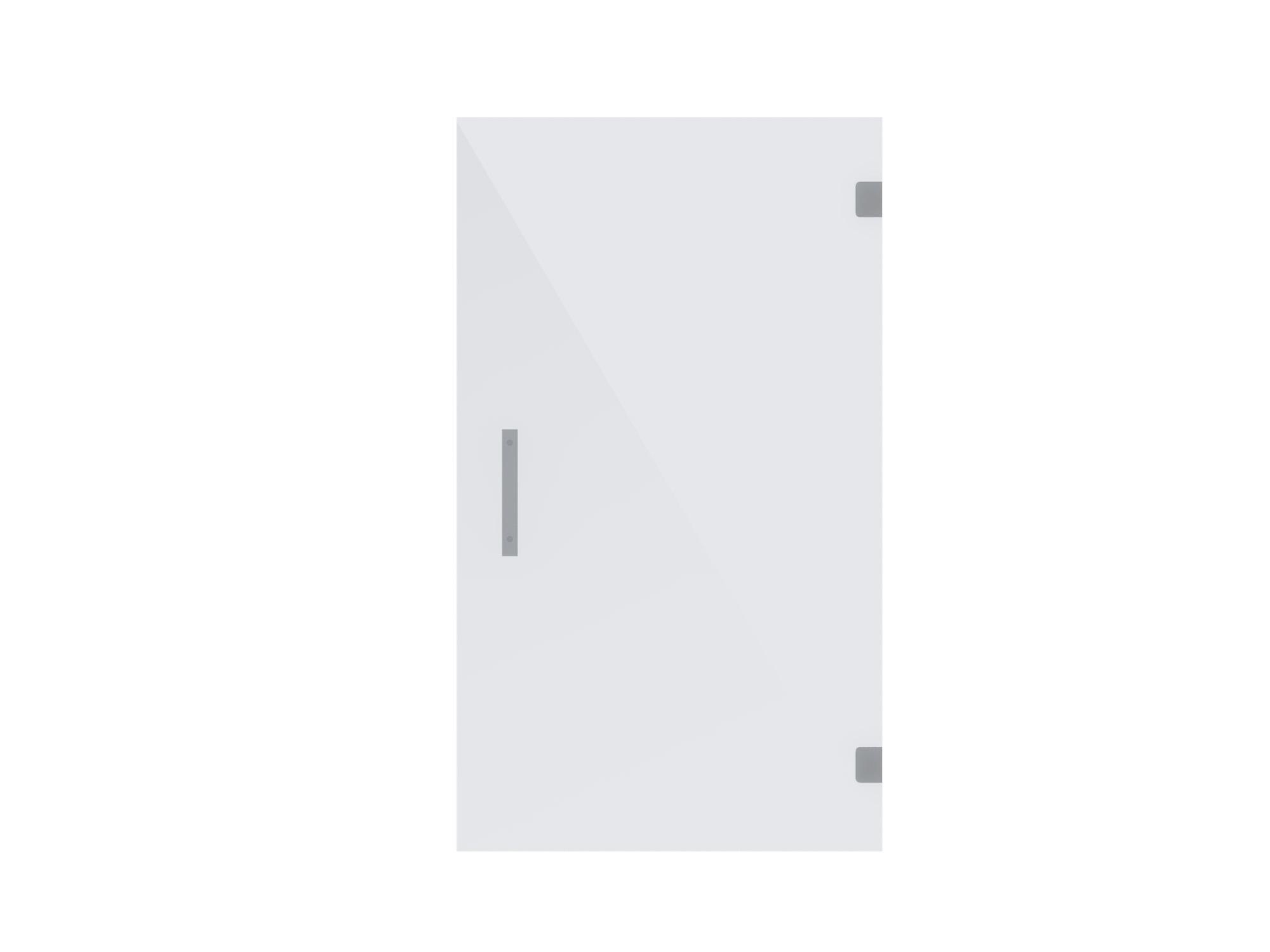Exceptionnel Single Panel Frameless Shower Glass Door ...