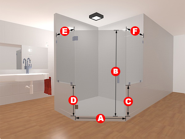 Best Glass Showers With Knee Walls Glass Shower Direct